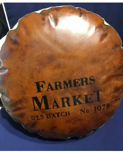 Farmers Market Round Cushion