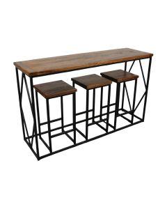 Alfresco 4-piece Breakfast Table Set