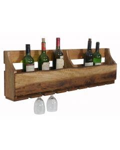 Kingston 8 Bottle & Glass Rack